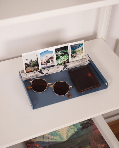 Display Tray | Blue & Grey