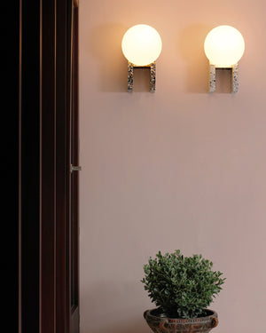 MET Stand Alone & Wall Lamp | Black