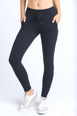 Image of Skinny Cargo Hybrid Full Leggings - LeggingsHut