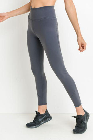 Highwaist Performance Essential Solid Leggings