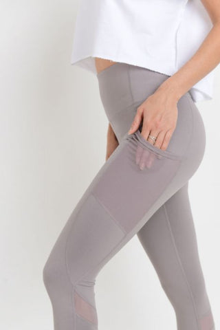 Image of Highwaist Ziggy Zag Pocket Full Leggings