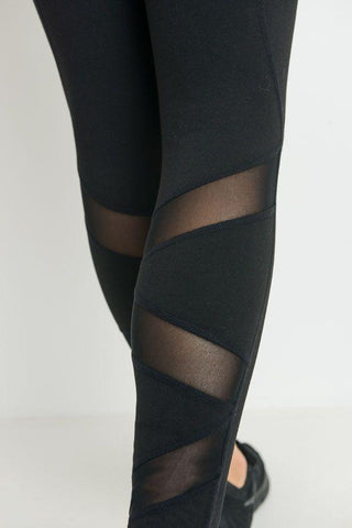 Highwaist Ziggy Zag Pocket Full Leggings PREORDER - LeggingsHut