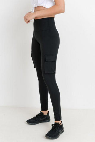 Image of Highwaist Hybrid Cargo Adventurer Leggings