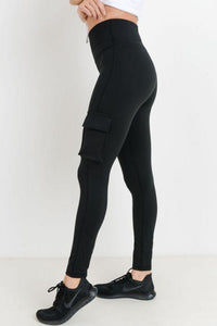Highwaist Hybrid Cargo Adventurer Leggings