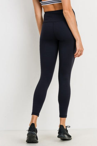 Image of Highwaist Lycra-Blend Essential Leggings
