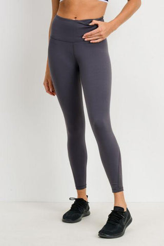 Perforated Panel Highwaist Performance Leggings