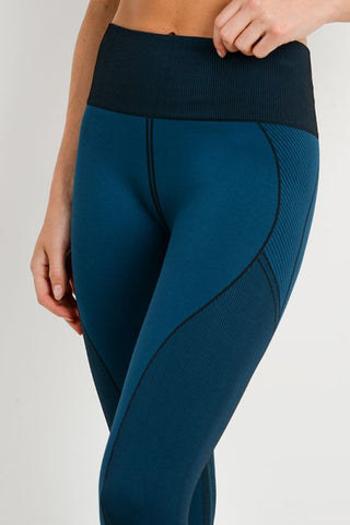 Image of Highwaist Multi-Patterned Seamless Leggings
