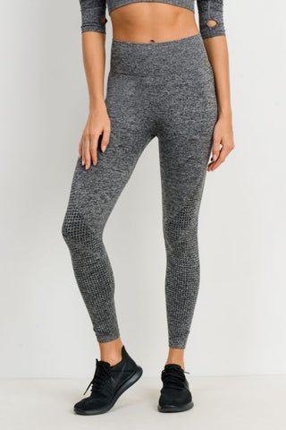 Image of Dot Textured Seamless Highwaist Leggings