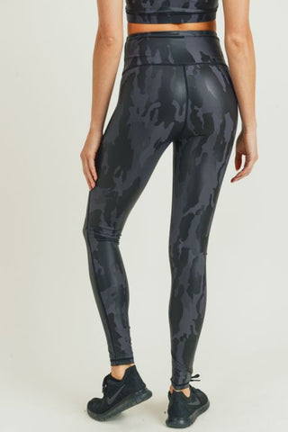 Image of Camo Foil Highwaist Leggings