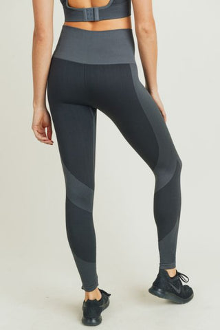 Image of Chevron Track Seamless Highwaist Leggings