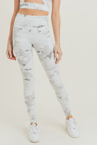 Image of Snow Camo Highwaist Leggings
