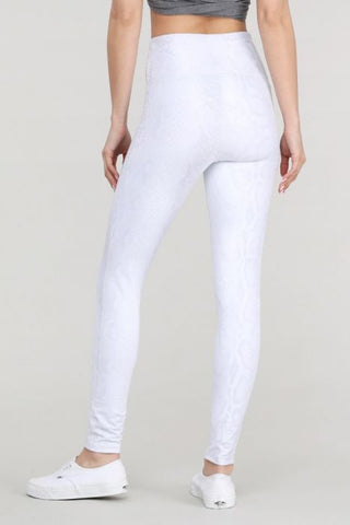 Greyscale Snake Print Highwaist Leggings