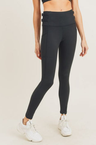 Image of Harness Strap Highwaist Leggings