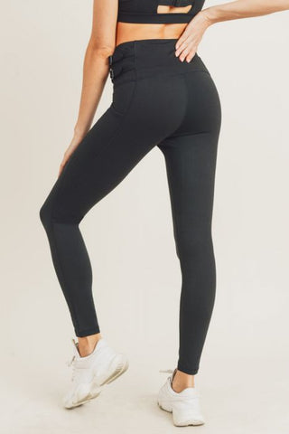 Harness Strap Highwaist Leggings