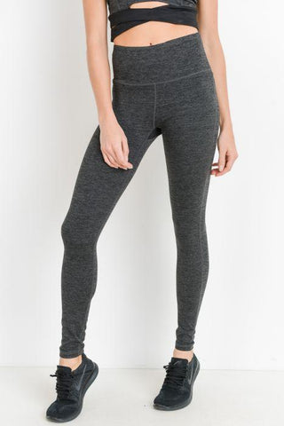 Image of Highwaist Solid Essential Full Leggings