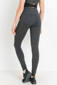 Highwaist Solid Essential Full Leggings