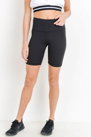 Highwaist Solid Short Leggings