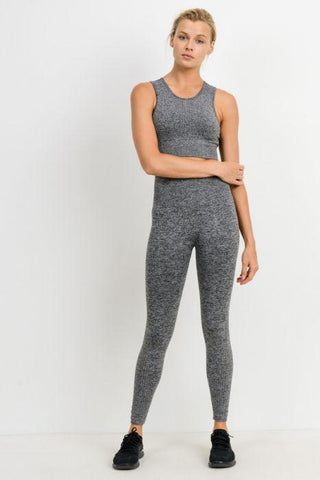 Image of Perforated Cascade Wrap Seamless Highwaist Leggings
