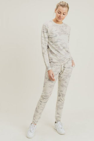 Image of Snow Camo Drawstring Joggers