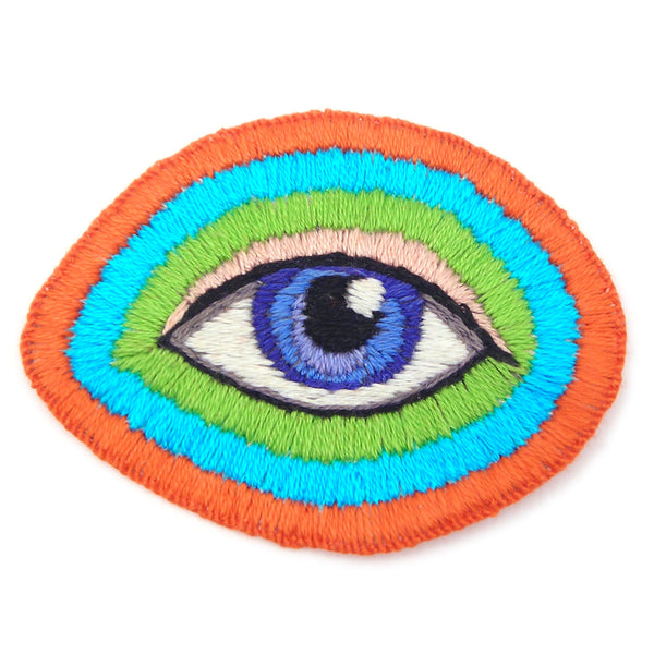 Sew On Eye Patch, Hand Embroidered (r)