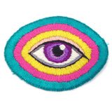 Sew On Eye Patch, Hand Embroidered (s)
