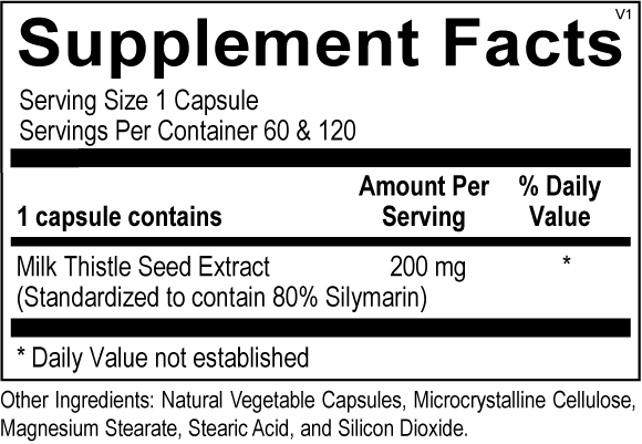 Milk Thistle Extract (Formerly: Silymarin Forte)