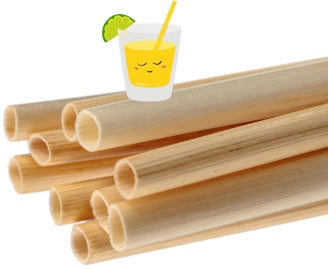 cocktail with happy straw