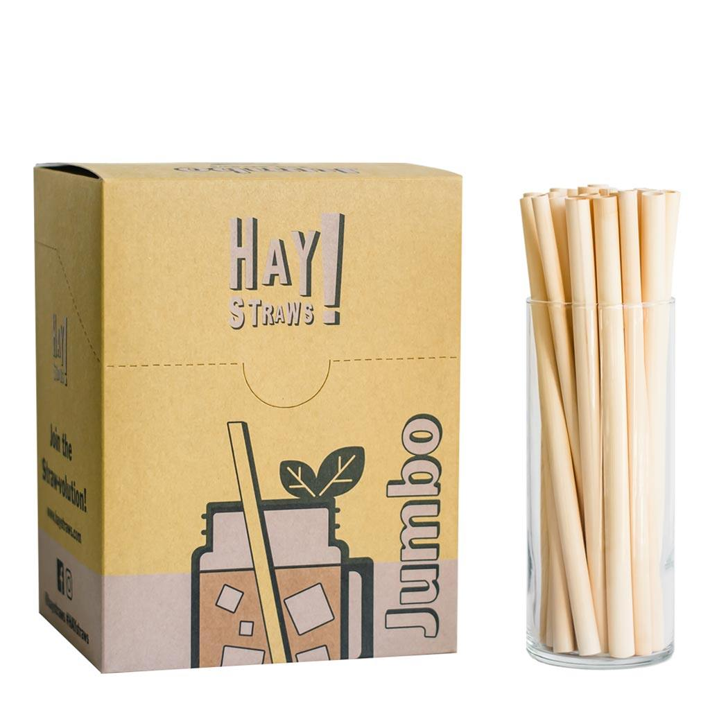 250 box of biological jumbo size reed straws