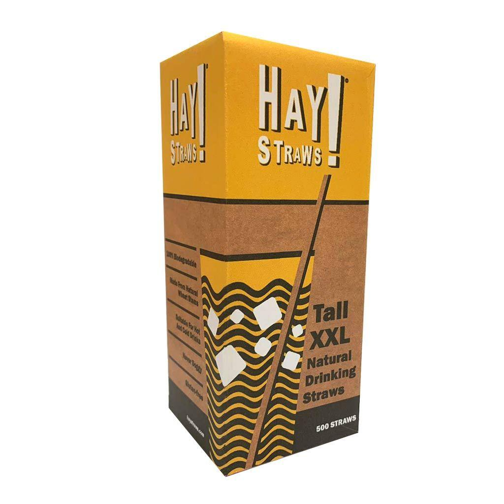 500 box of natural tall XXL size wheat straws