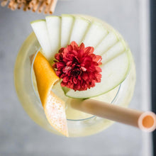 Load image into Gallery view, Natural organic smoothie straws cocktail -1