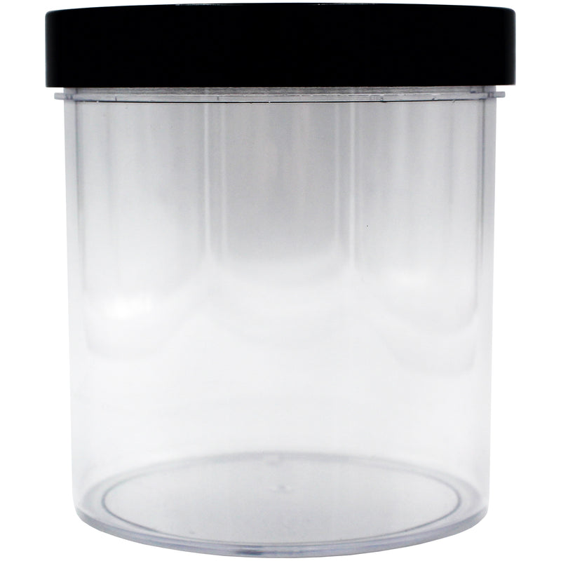 Black Smooth Caps with Liners For Wide Mouth Containers & Closures (From 0.07/Unit) - GrowCargo