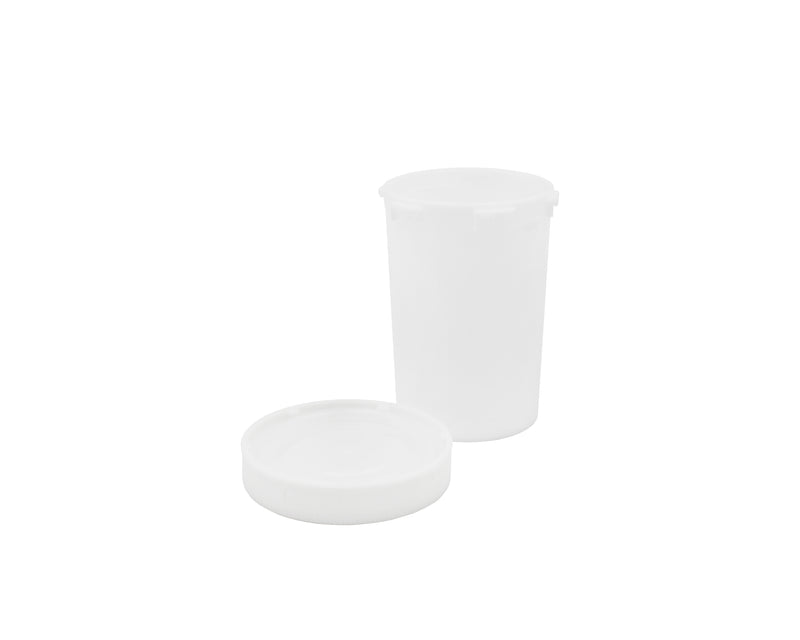 White Opaque 20 Dram Push & Turn Vial with Child-Resistant Cap