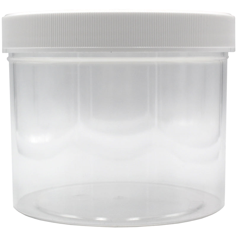 White Caps for Wide Mouth Containers & Closures (From 0.04/Unit) - GrowCargo