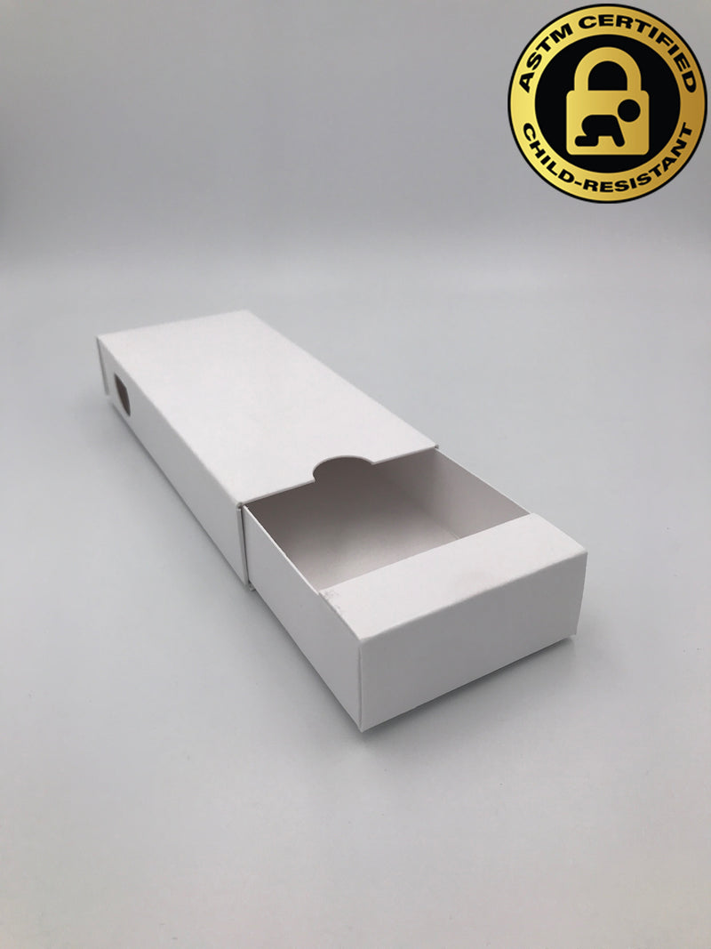 Child Resistant Slide Boxes (Call for Quote) - GrowCargo