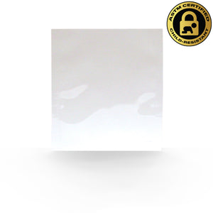 "4""x5"" Single Serve, Child Resistant Mylar Bags in White/White (0.18/Unit) - GrowCargo"