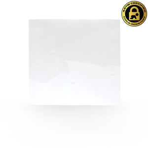 "5""x5"" Single Serve, Child-Resistant Mylar Bags in White/White (0.20/Unit) - GrowCargo"