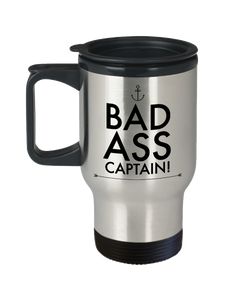 Funny Boating Travel Mugs