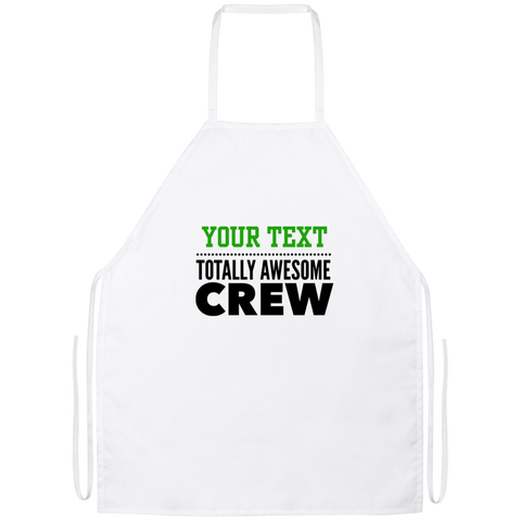 Personalized-Totally Awesome Crew Apron