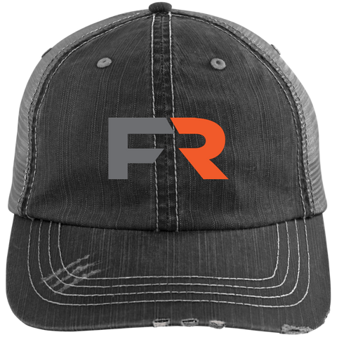 Fast Response Logo Distressed Unstructured Cap