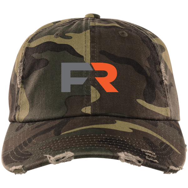 Fast Response Marine Distressed Dad Cap