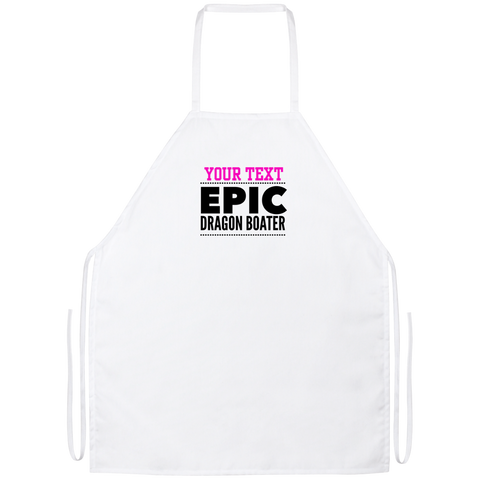 Personalized-Epic Dragon Boater Apron