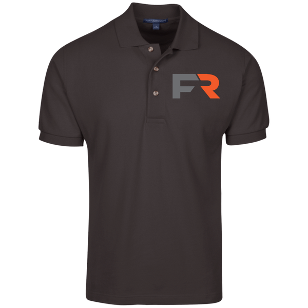 Fast Response Marine Port Authority Cotton Pique Knit Polo