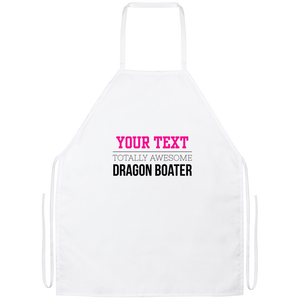 Personalized-Totally Awesome Dragon Boater Apron