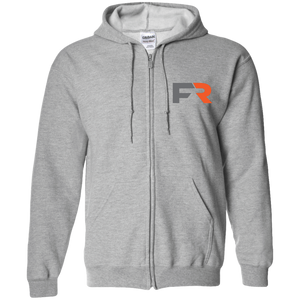 Fast Response Marine Gildan Zip Up Hooded Sweatshirt