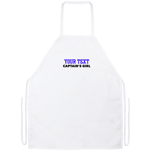 Personalized-Captain's Girl Apron