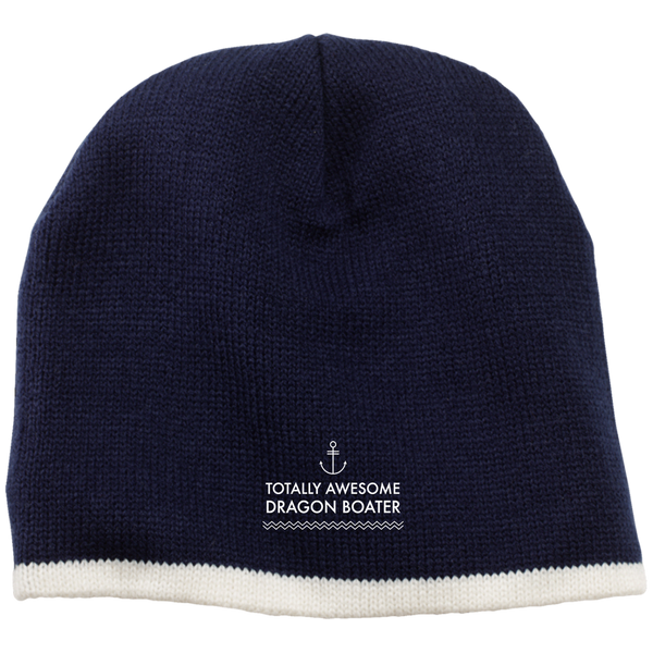 Totally Awesome Dragon Boater 100% Acrylic Beanie