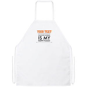 Personalized-Haulover Sandbar Happy Place Apron