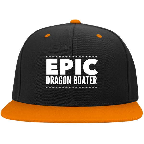 Epic Dragon Boater Sport-Tek Flat Bill High-Profile Snapback Hat