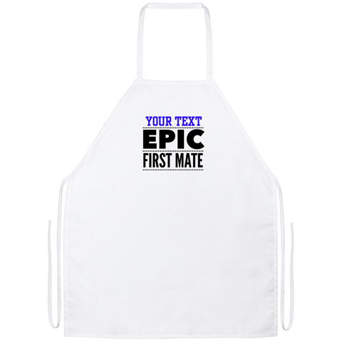 Personalized-Epic First Mate Apron