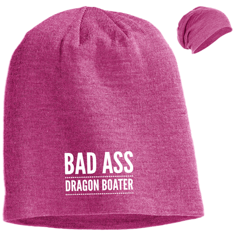 BadAss Dragon Boater District Slouch Beanie